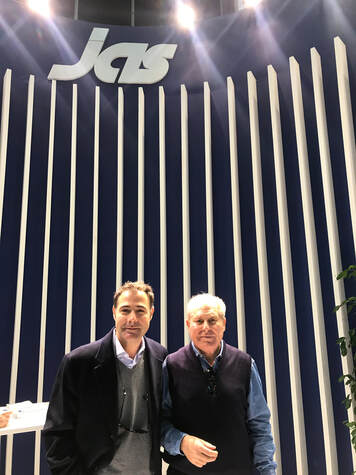 Juan Romero, JAS Spain Vegetable Division Director, and Pablo Talledo, JAS Spain VP Sales & Marketing
