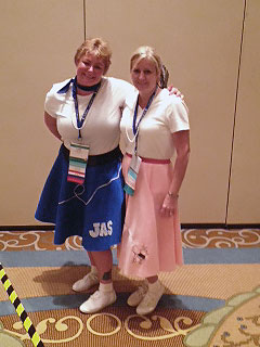 Leah Ellis (left) and Laurie Arnold (right), attended the 41st NCBFAA Annual Conference in Orlando, FL.