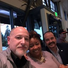 From left to right: Drew Pollitz (San Francisco Operations Manager), Tiffany Coffey (Corporate Compliance Specialist), Jorge Suarez (San Francisco Branch Manager)