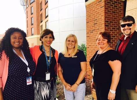 From left to right: Tiffany Coffey (Corporate Compliance Specialist), Stefania Poli (Route Development Manager, Italy), Laurie Arnold (Regulatory Compliance Officer), Leah Ellis (Corporate Compliance Specialist), Scott Cassell (Corporate Compliance Specialist)