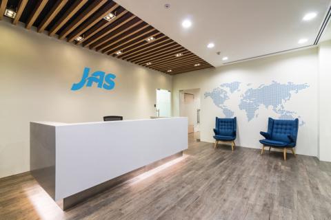 JAS Singapore office interior