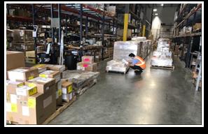 JAS Miami warehouse December 2020