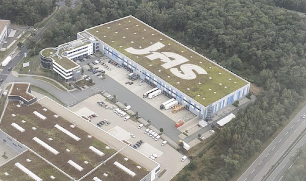 JAS Frankfurt aerial photo