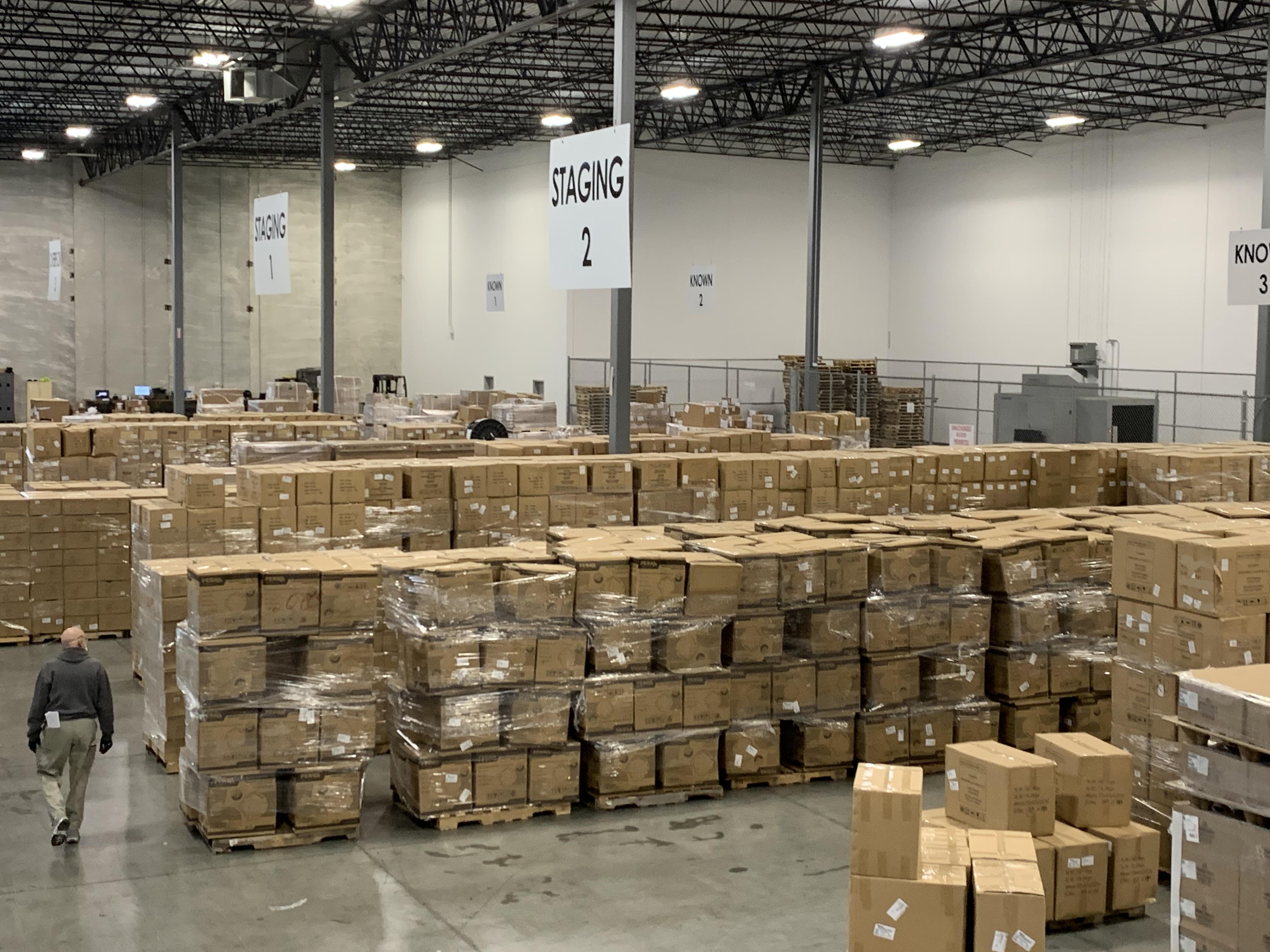 JAS Chicago Warehouse