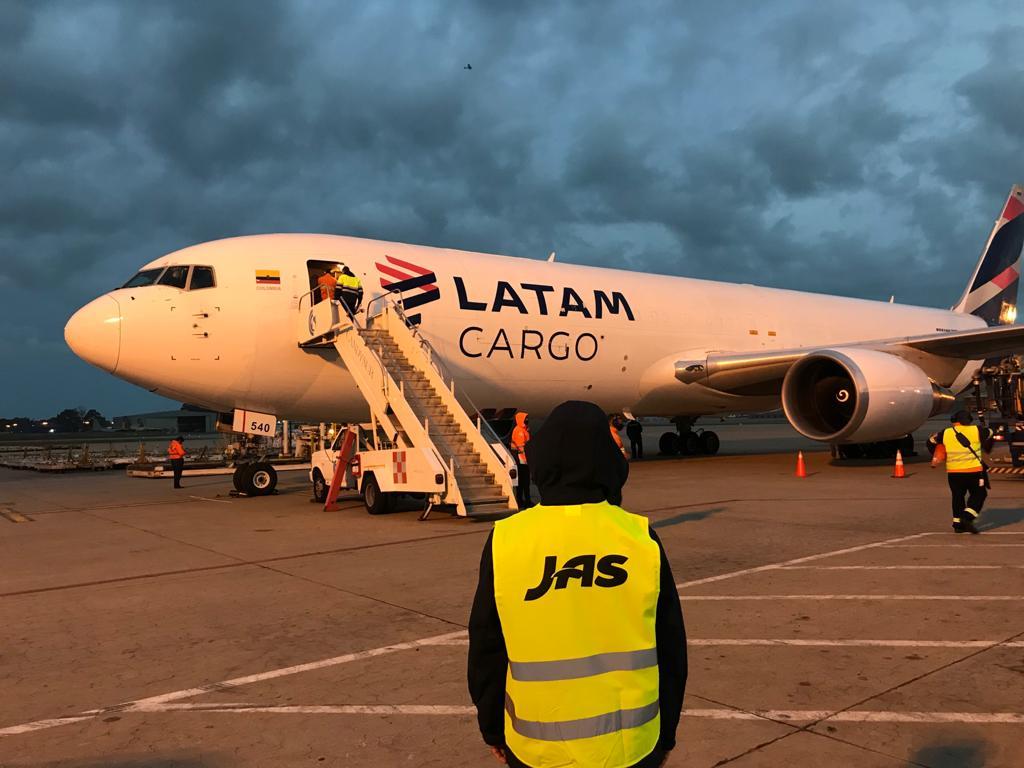 JAS and LATAM Cargo