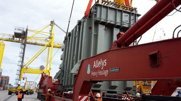 Transportation of large equipment.
