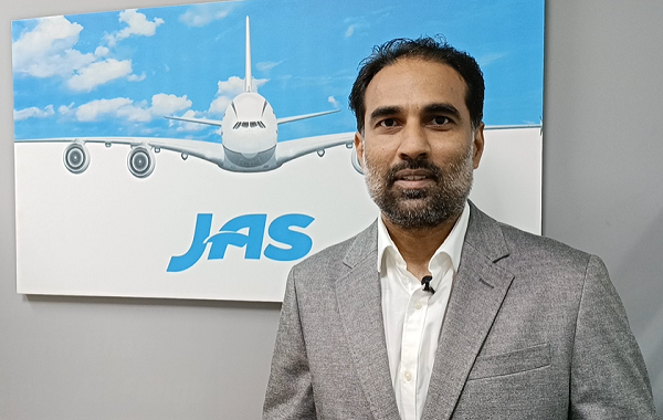 """""""Our actions should speak for us, as leaders let us walk the talk."""" Sarvar Bharti, JAS India Director of Air Freight"""