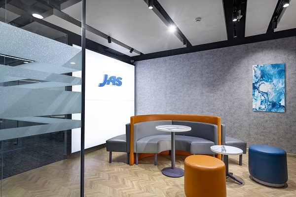JAS India new headquarters.