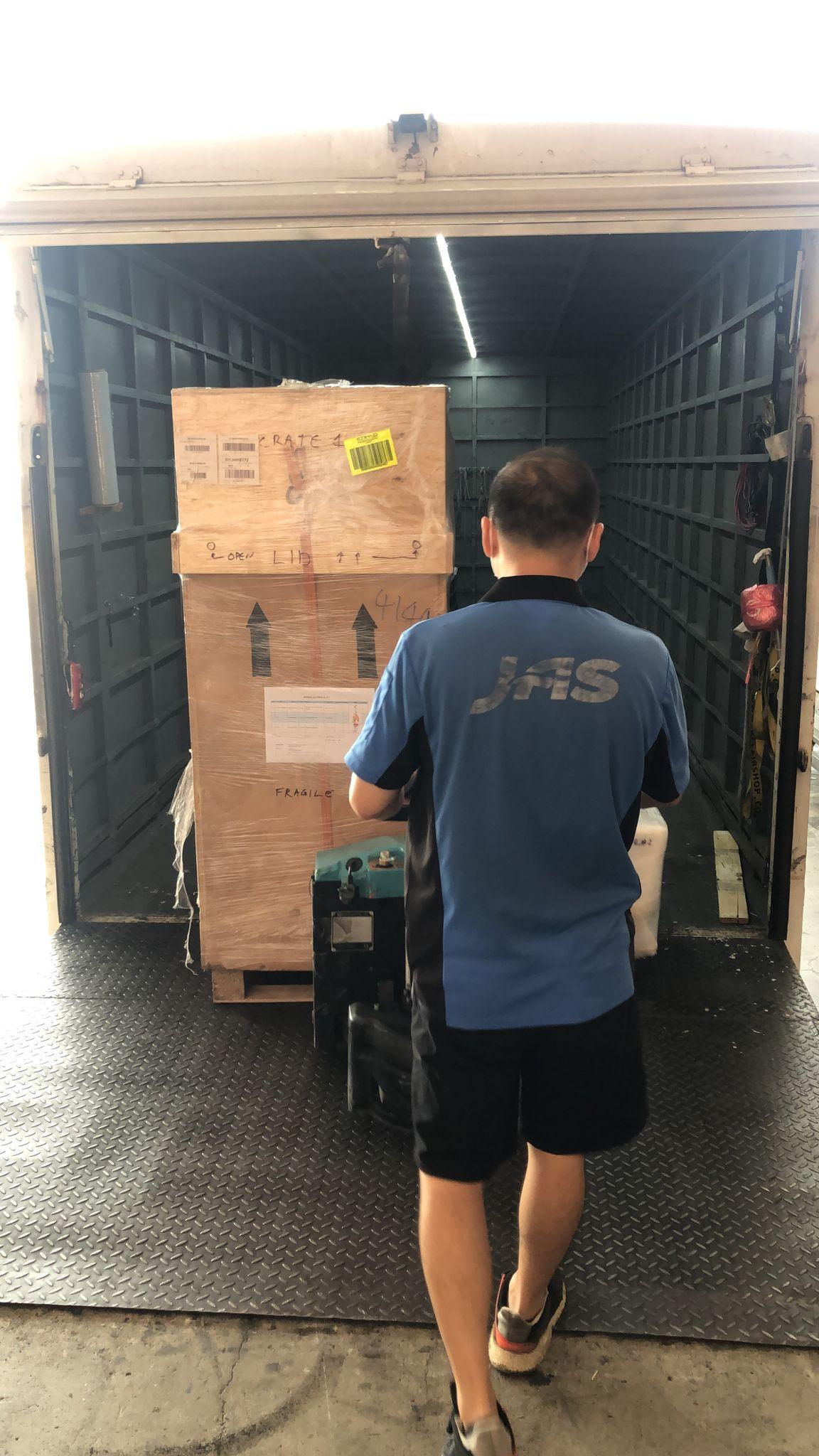 JAS Hong Kong transports Gabarron artwork