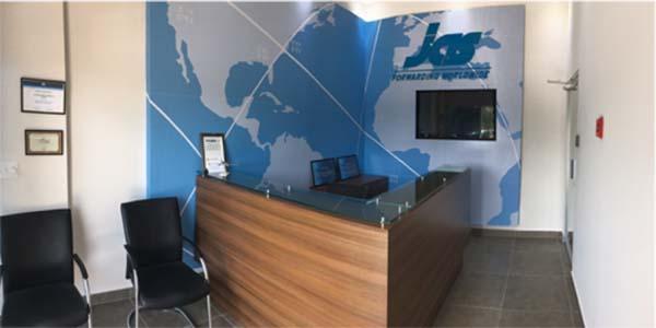 JAS Panama office interior
