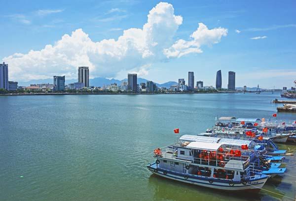 Vietnam river boats