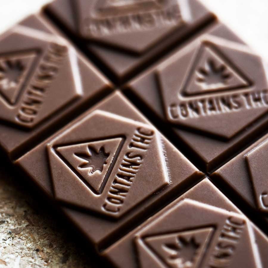 Cannabis infused chocolate by Flying Bon Bon