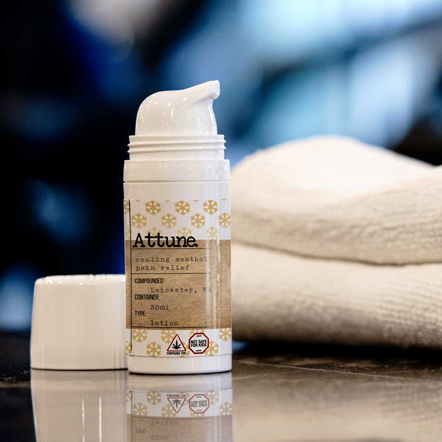 Cannabis infused Lotion by Attune