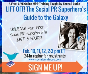 The Social PR Superhero's Guide to the Galaxy