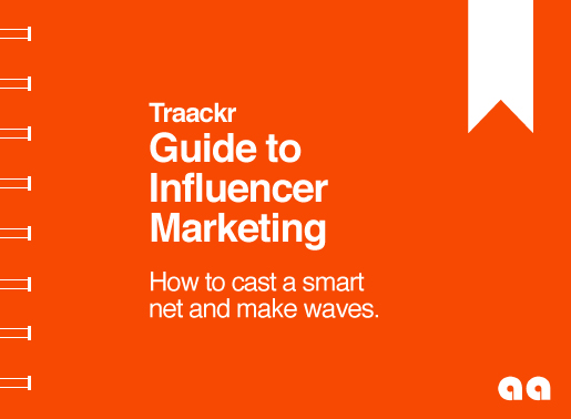 Présentation du Guide du Marketing d'Influence avec Traackr
