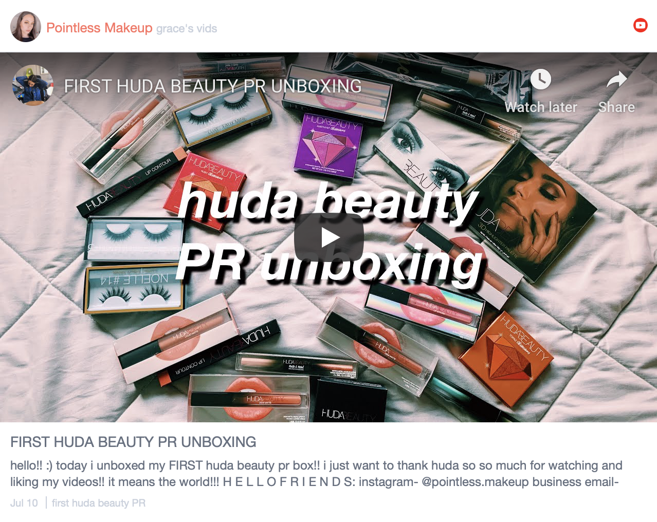 Huda Beauty wins the hearts of Mid-Influencers according to Traack's SOI Beauty 2019