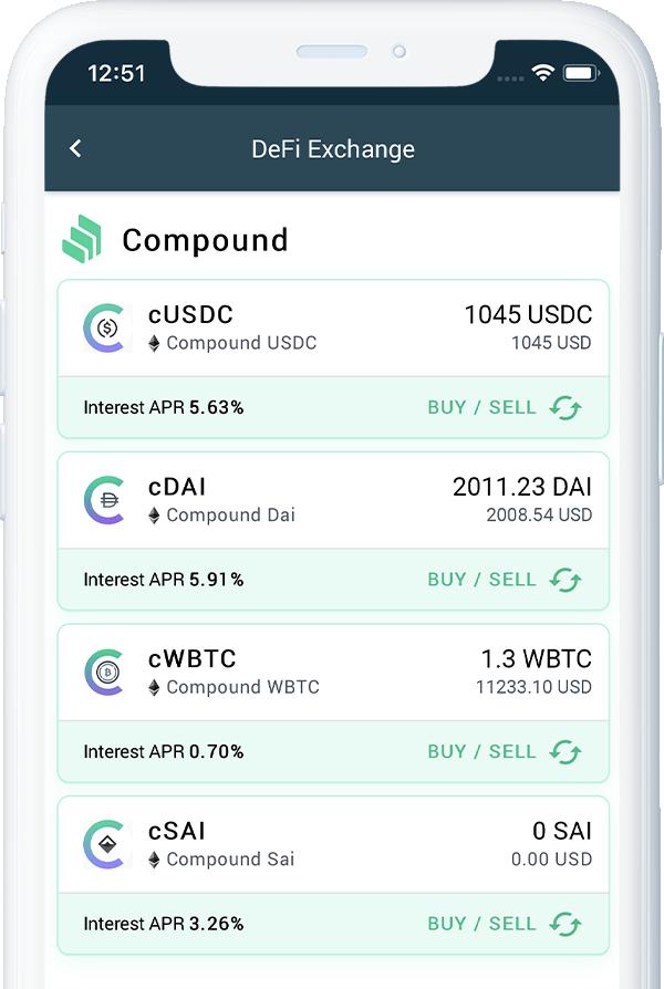 DeFi Exchange | Dex Crypto Exchange | DeFi Lending