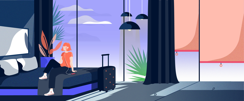 smarthotel f r reisende. Black Bedroom Furniture Sets. Home Design Ideas
