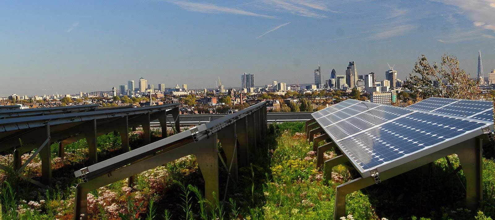 What is a biosolar roof and can how it change city living?