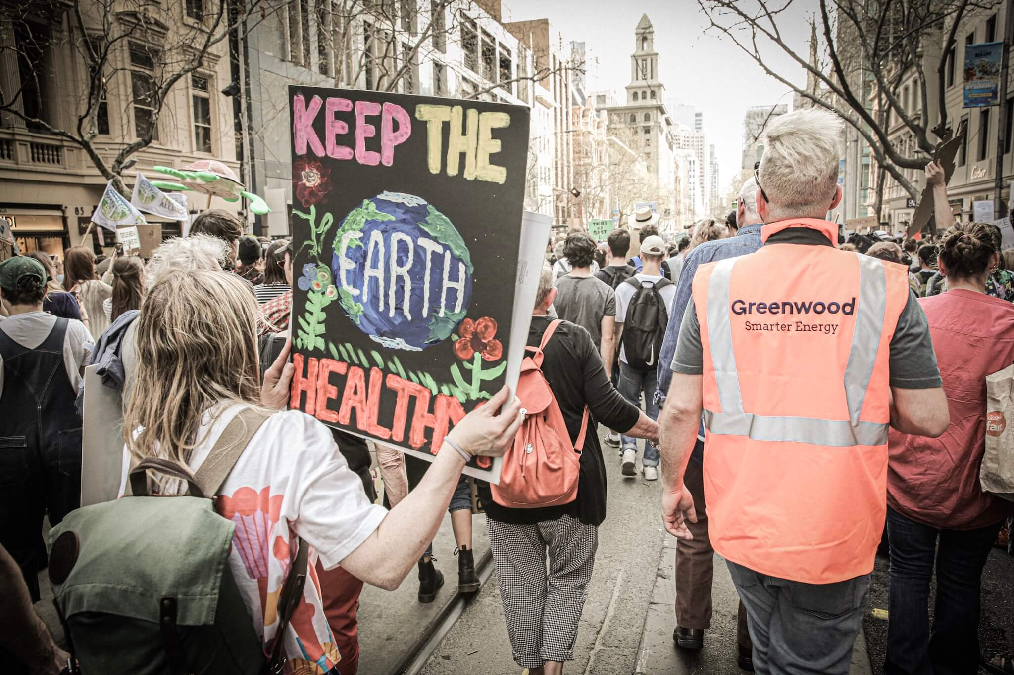 The global strike for climate change