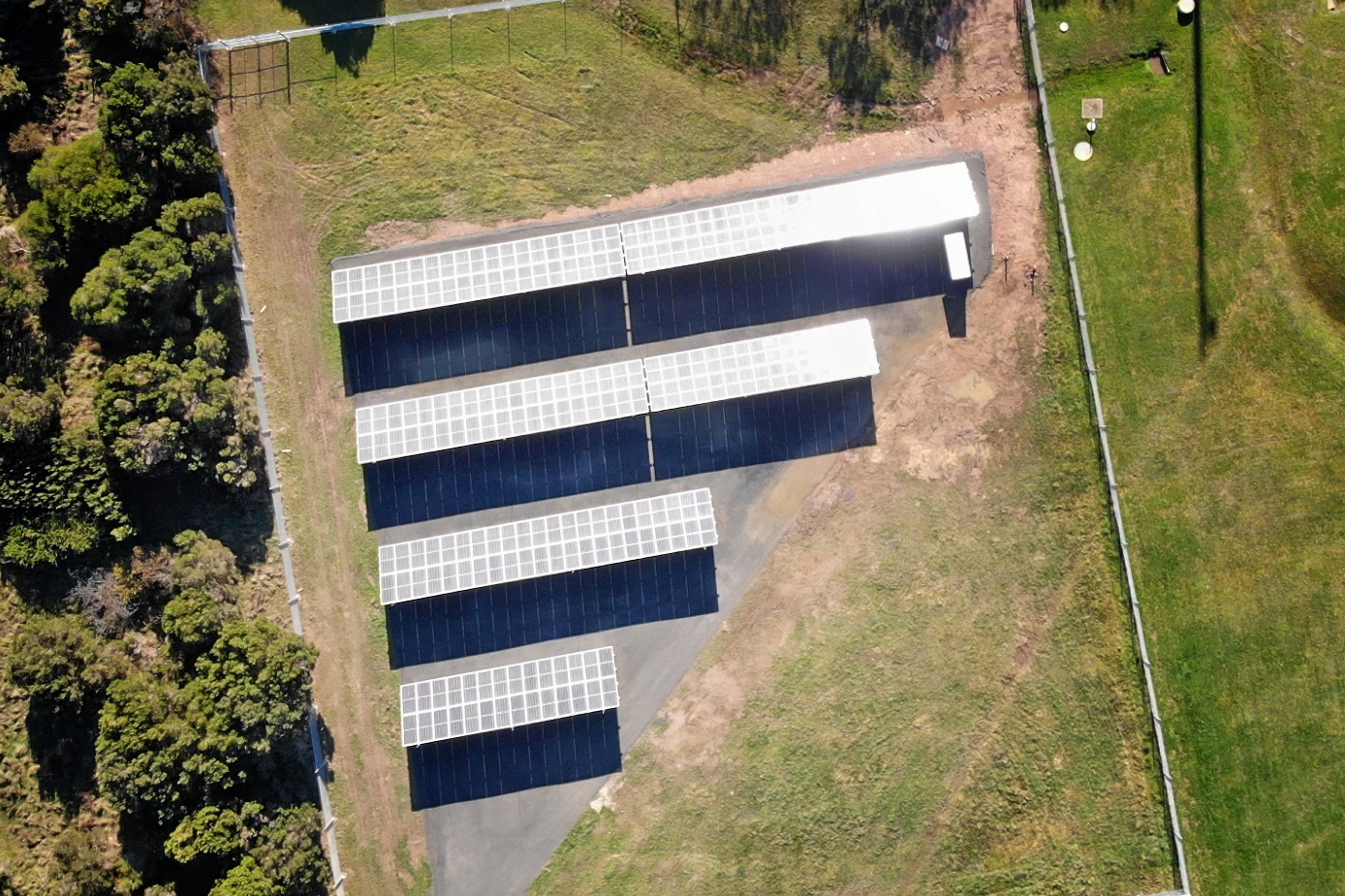 Static vs tracking solar ground mount systems