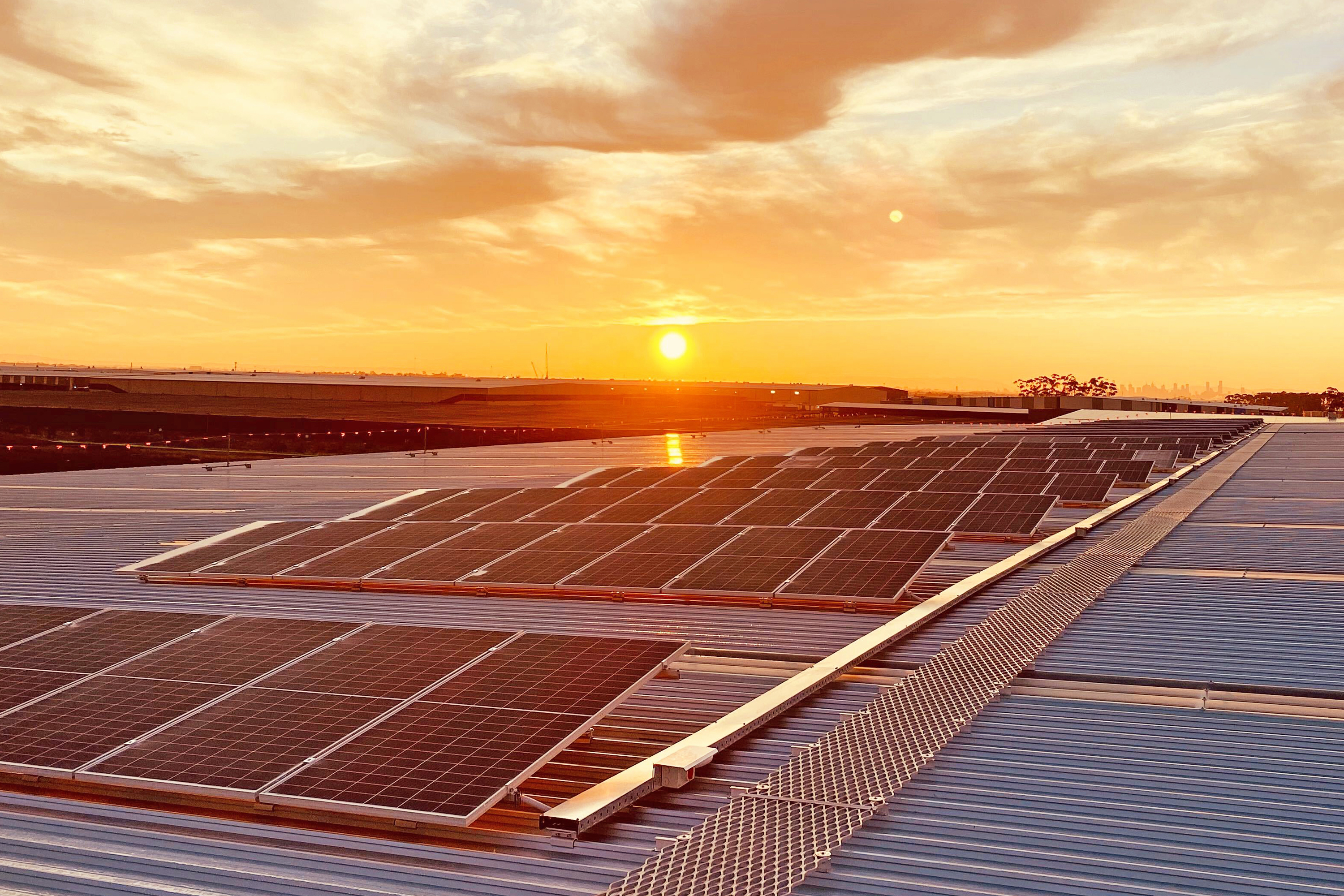 Vaughan Constructions partner with Greenwood to deliver key solar projects for Mapletree Logistics