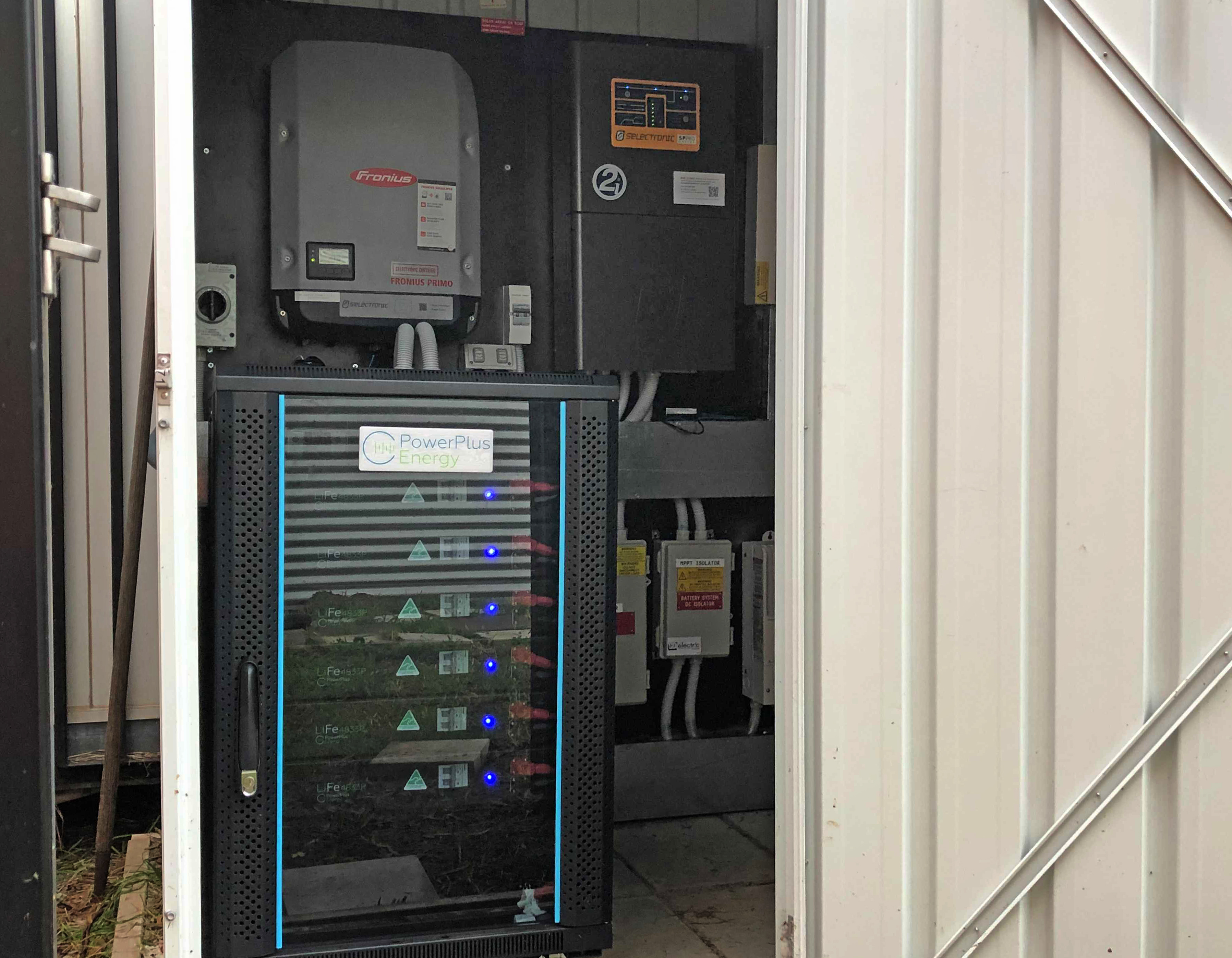 Using Aussie Made PowerPlus batteries to take control of their energy needs