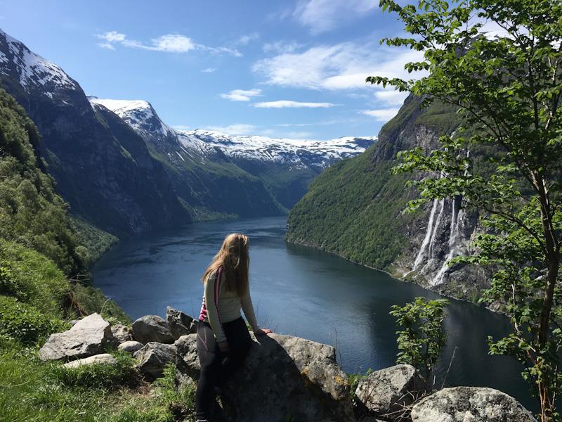 Die tiefen Fjorde
