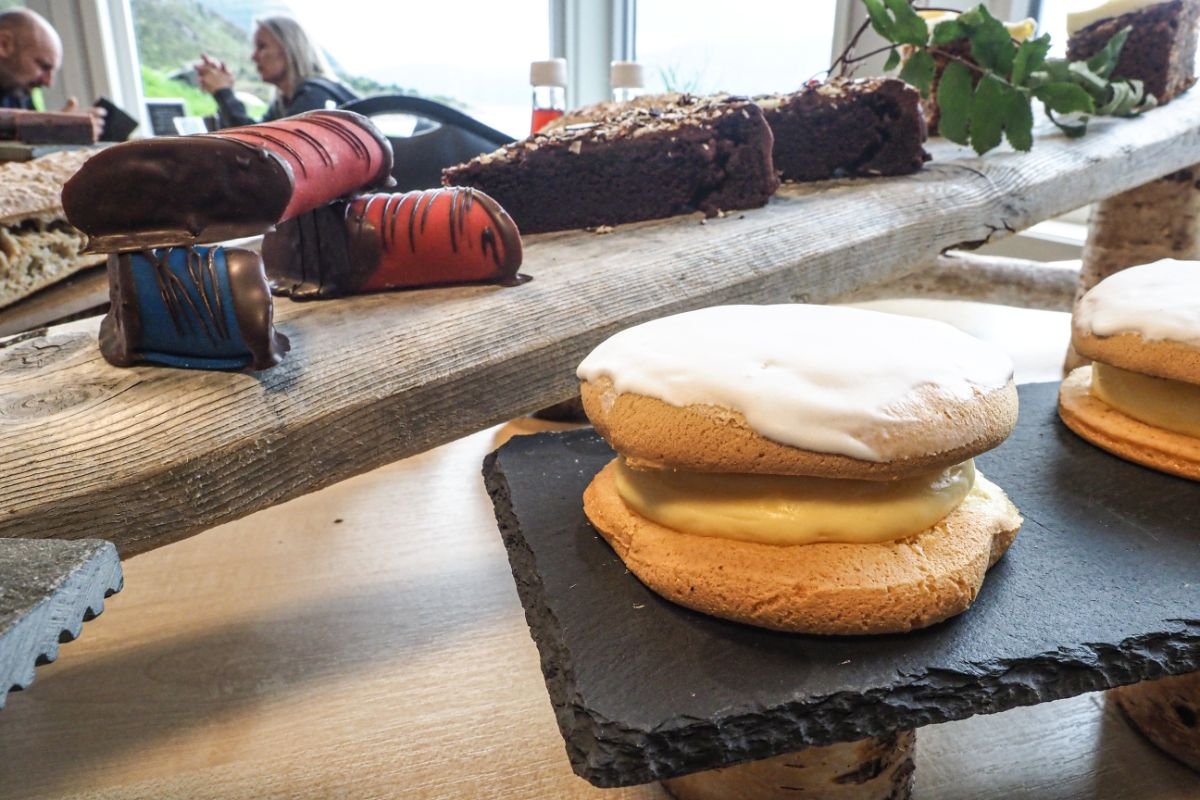 Turtle cakes from Baker Walderhaug - a delicious Ålesund cake