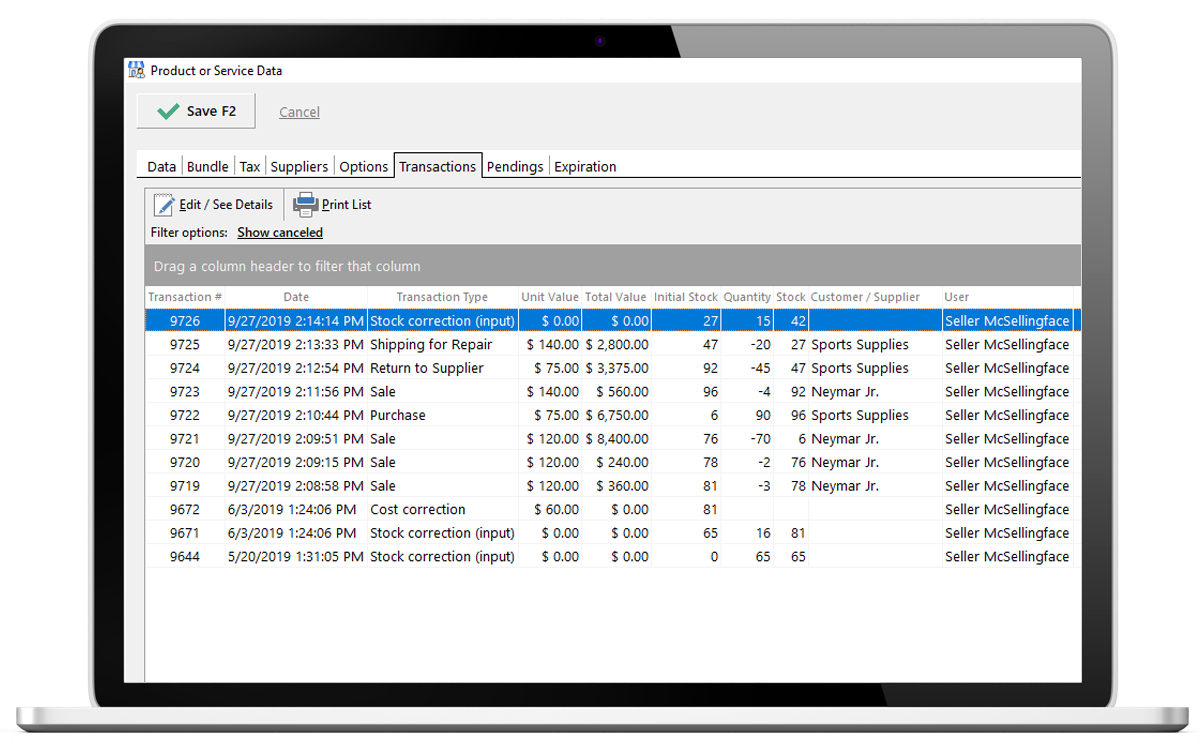 free download stock maintain software for pc