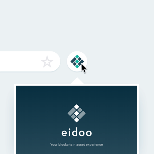 Eidoo Browser extension