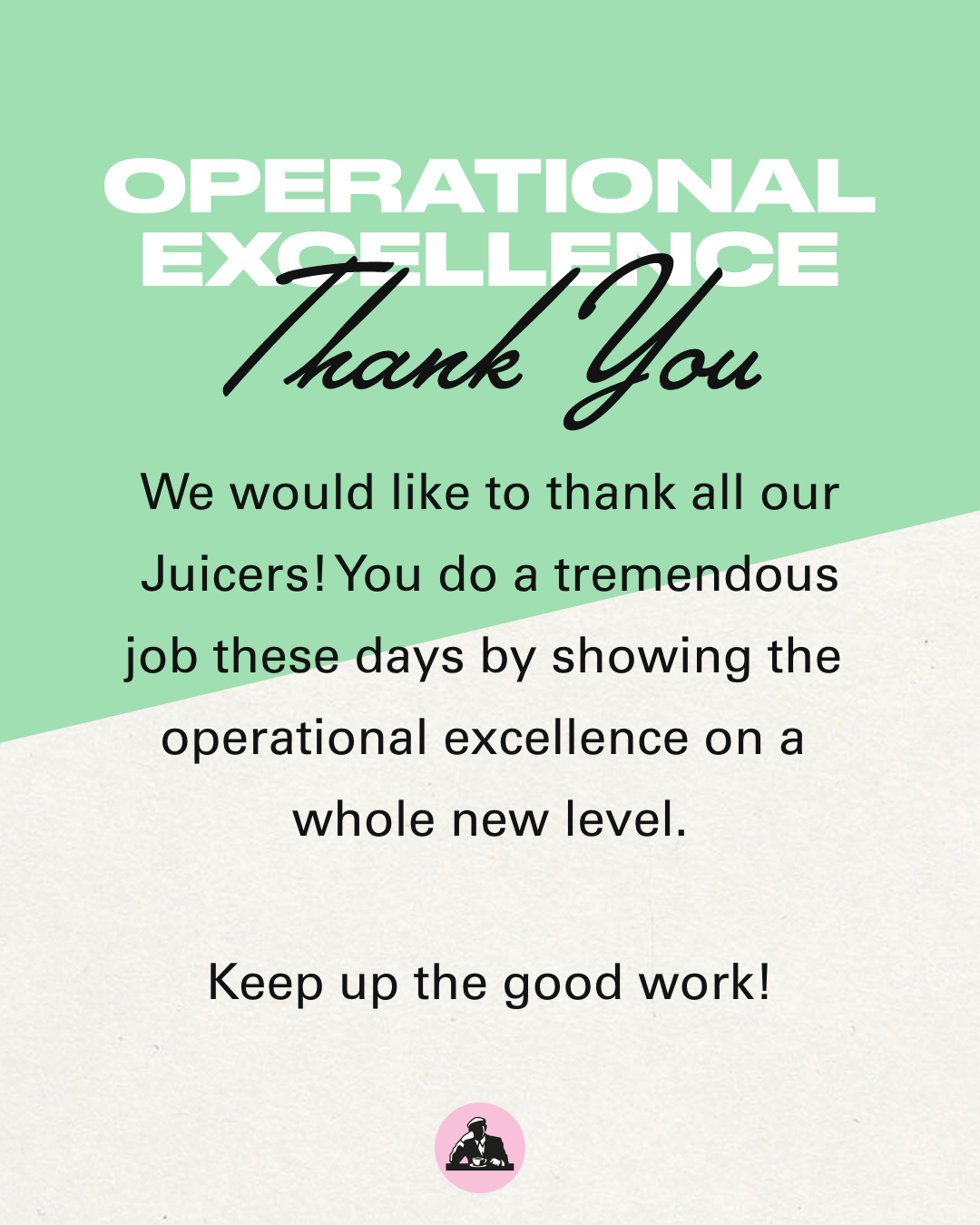 Operational excelence - Thank you
