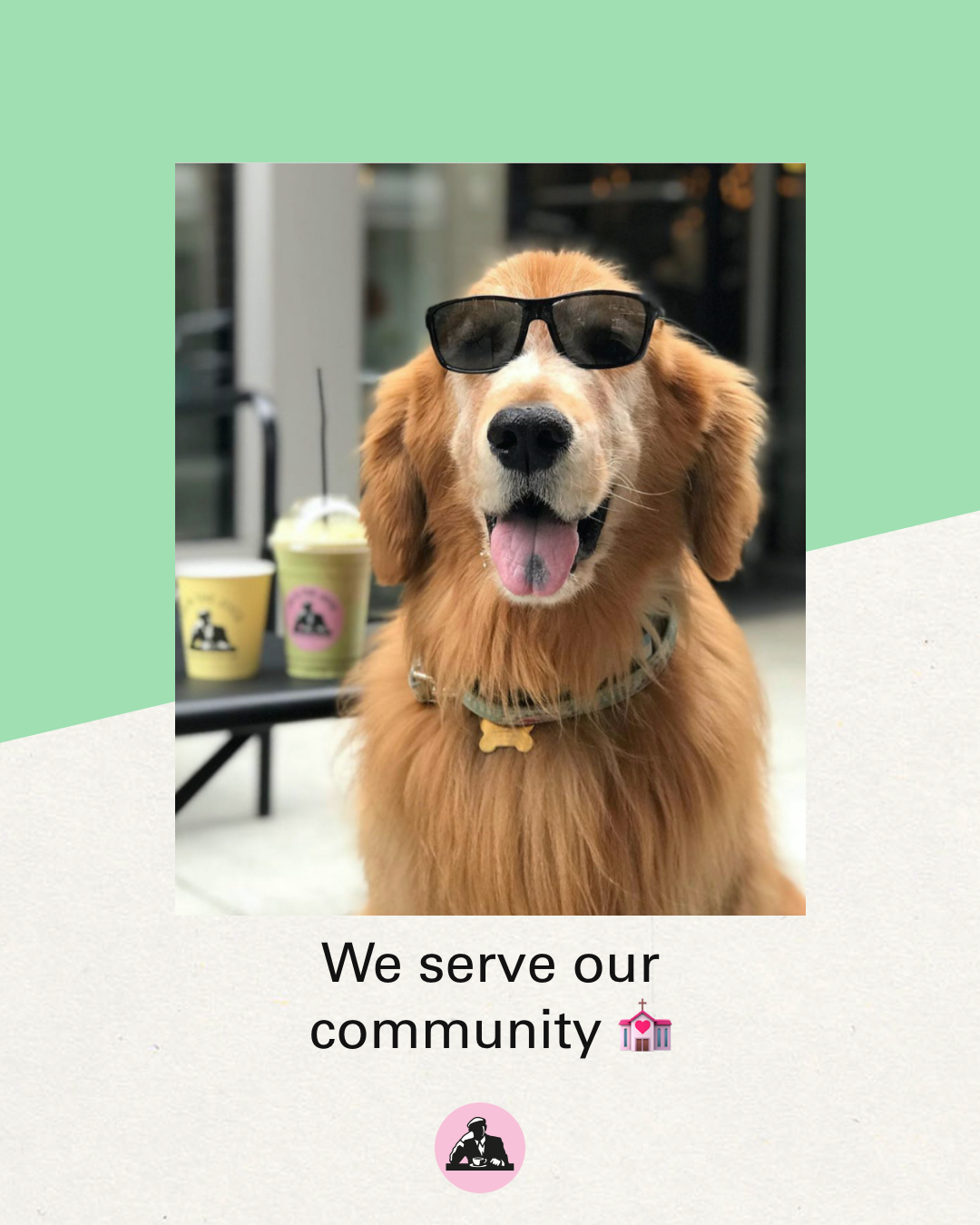 We serve our community