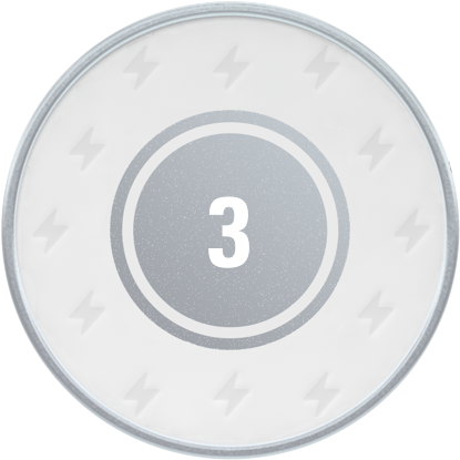 5 visits in 21 days achievement on the joe loyalty app