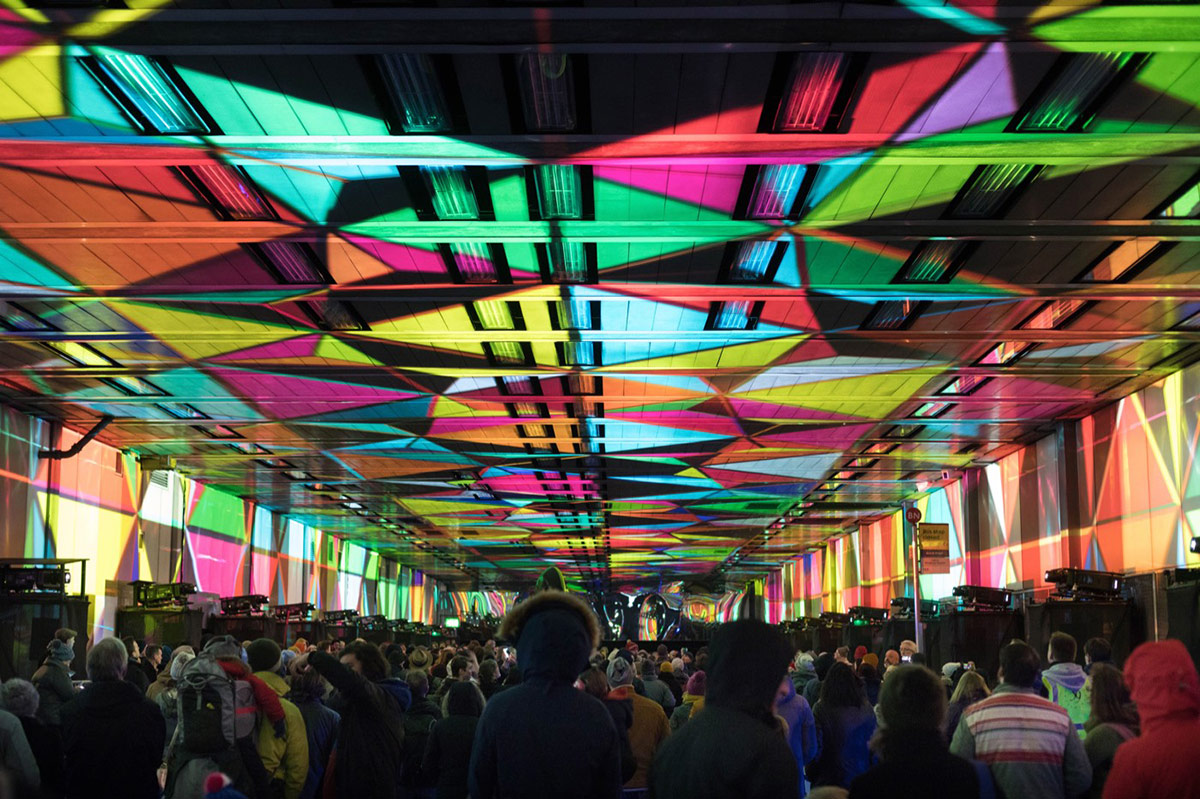 Culture Mile art installation