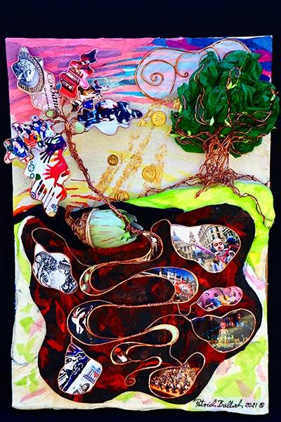 Patrick Bullock's artwork
