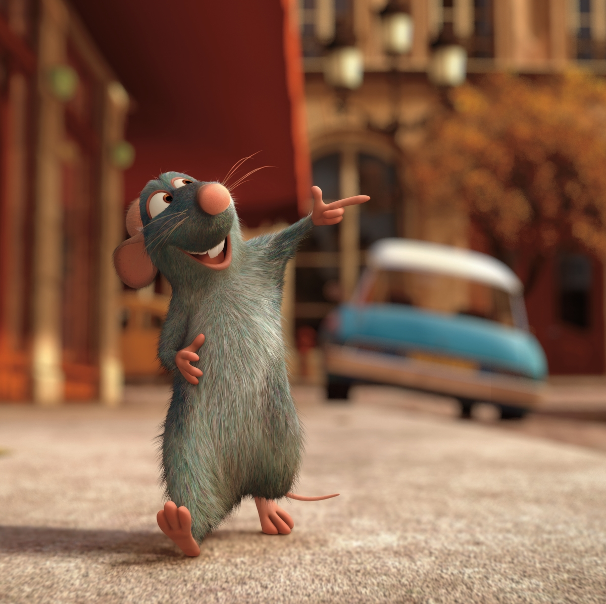 Family Film Club: Ratatouille (PG) + Show and Tell with Joe Sharpe and Zoë Bather, authors of Around the World with the Ingreedies: A Taste Adventure