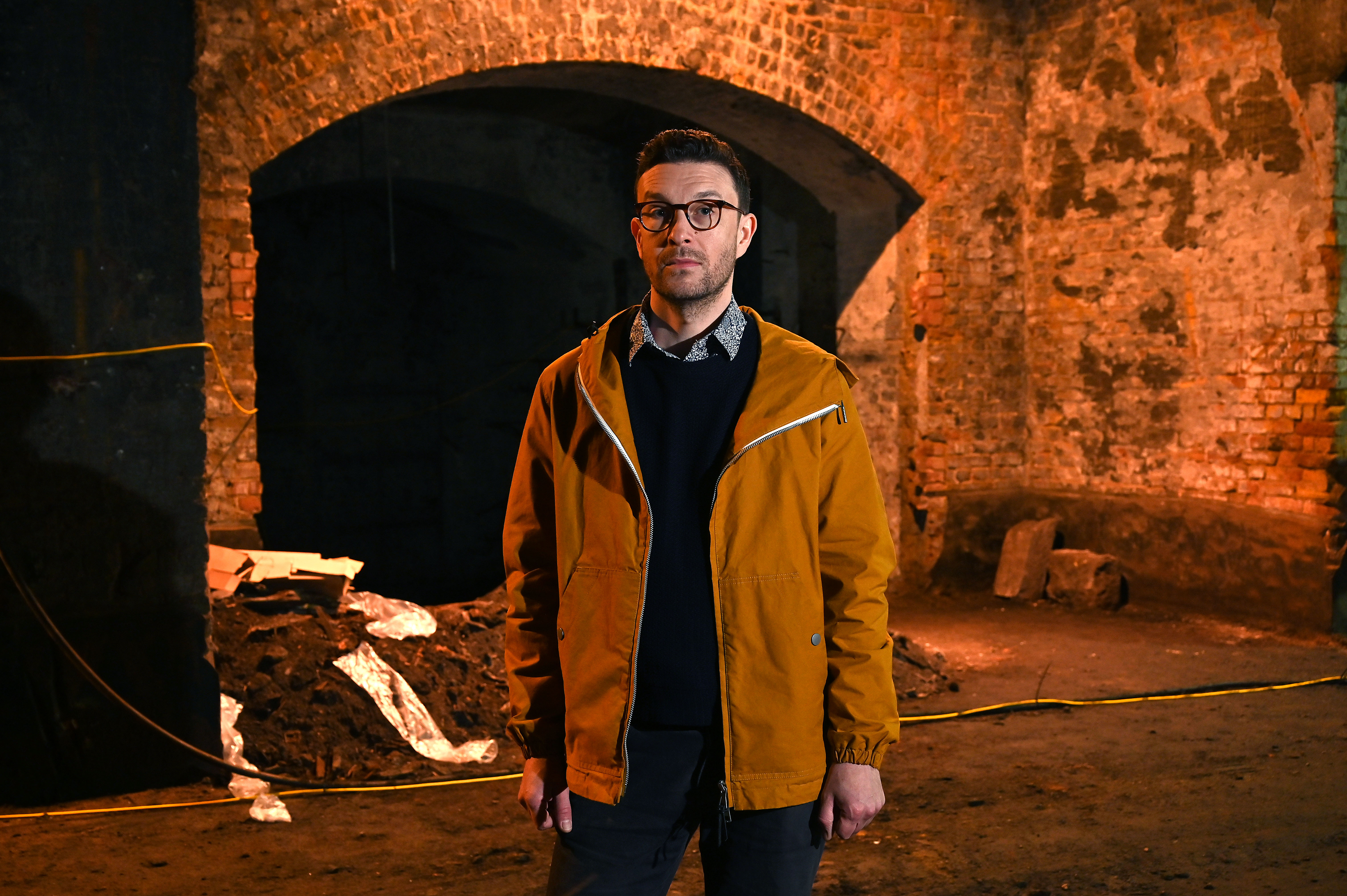 Tom Richards in New Museum of London Subterranean Spaces