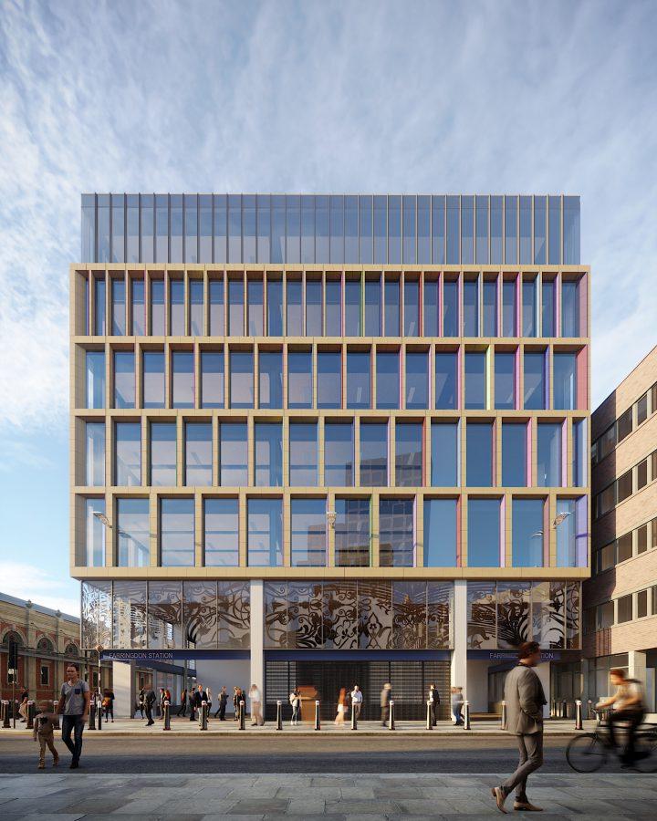 Kaleidoscope Building in Farringdon