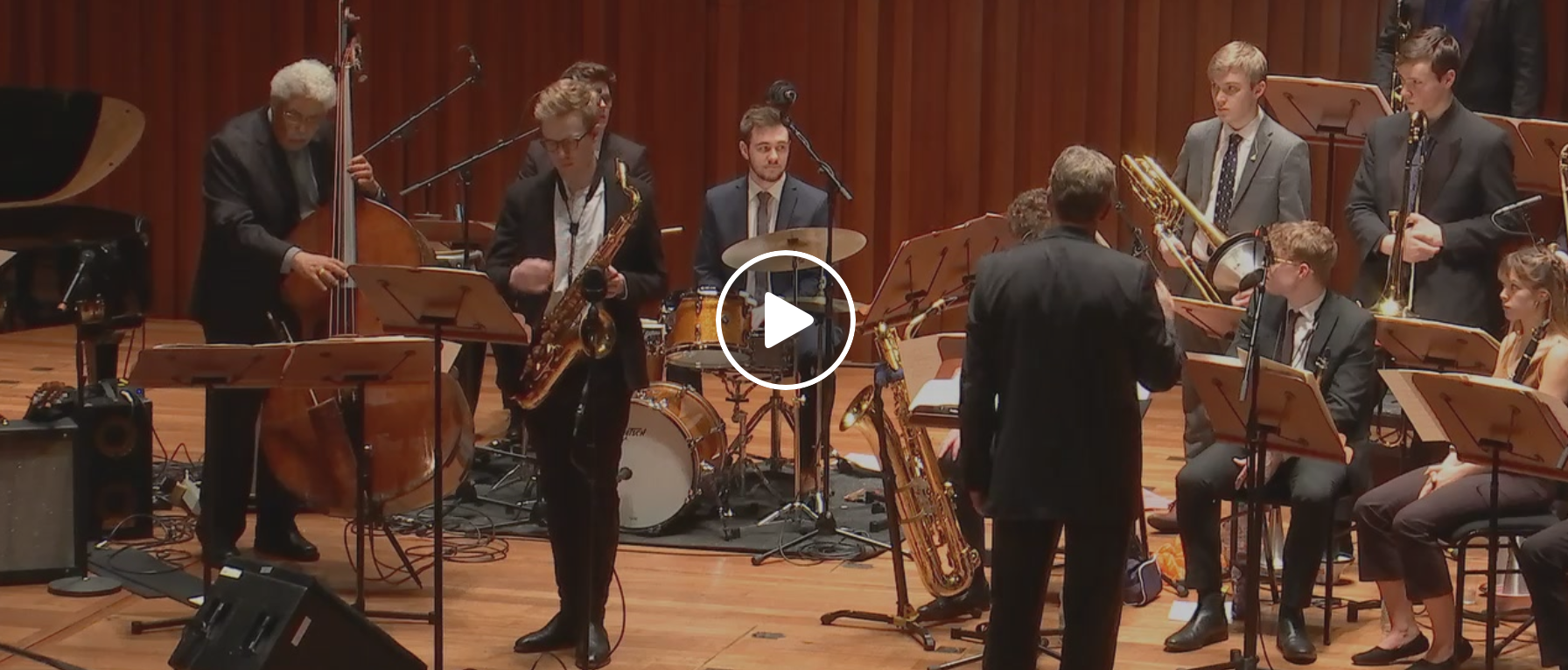 Online broadcast: Rufus Reid with Guildhall Jazz Orchestra