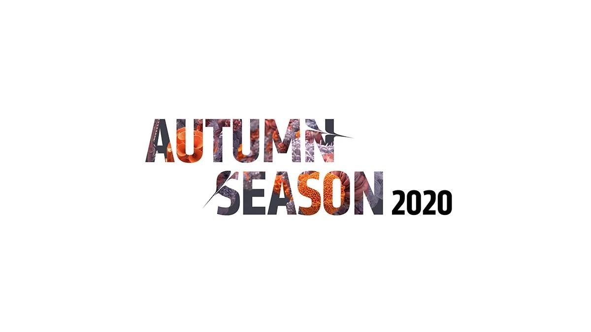 "Text reading: ""Autum Season 2020"""