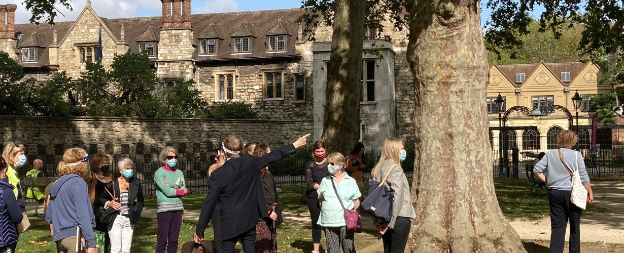 Tour of The Charterhouse from Charterhouse Square
