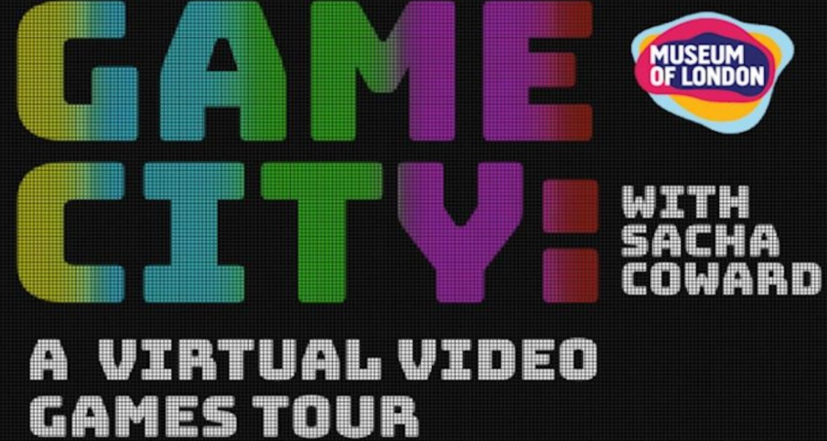 Text based image saying Game City with Museum of London logo
