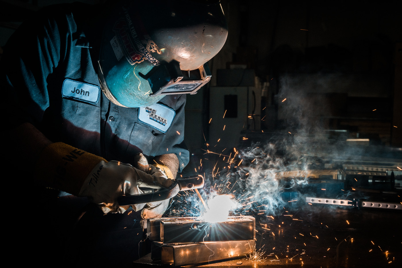 The Welding Image