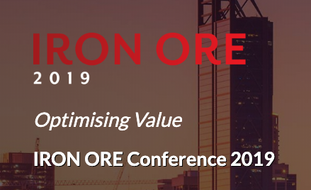 Tamer Eid from DataCloud attends Iron Ore conference in Perth to support new software that detects ore and waste boundaries better