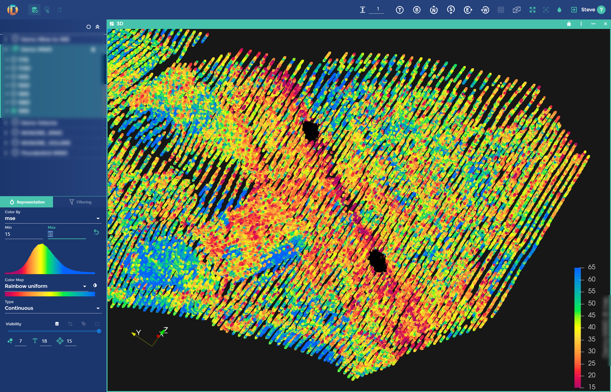 core samples match software machine learning geology results the future of mining