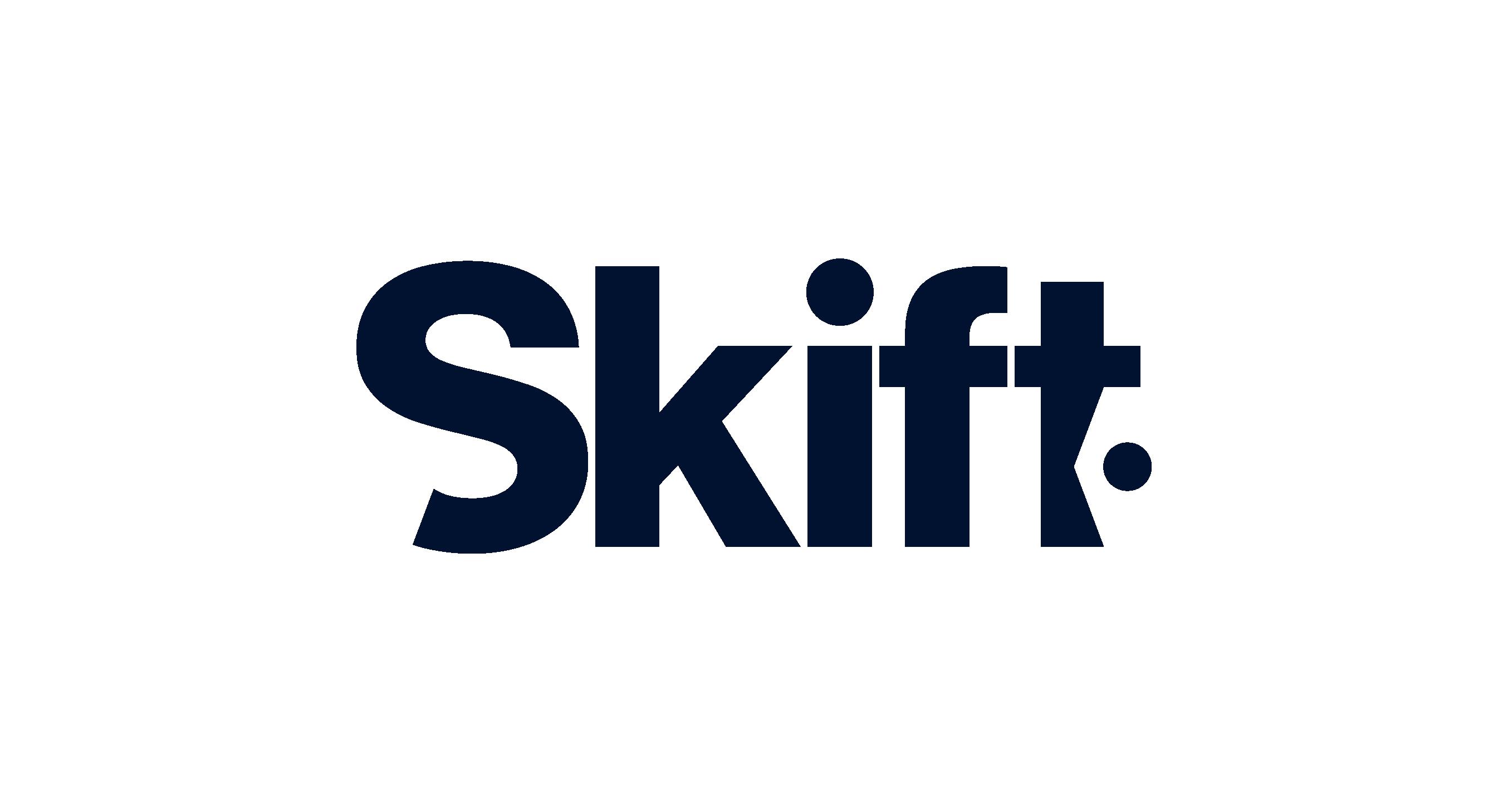 Skift logo in conichi blue