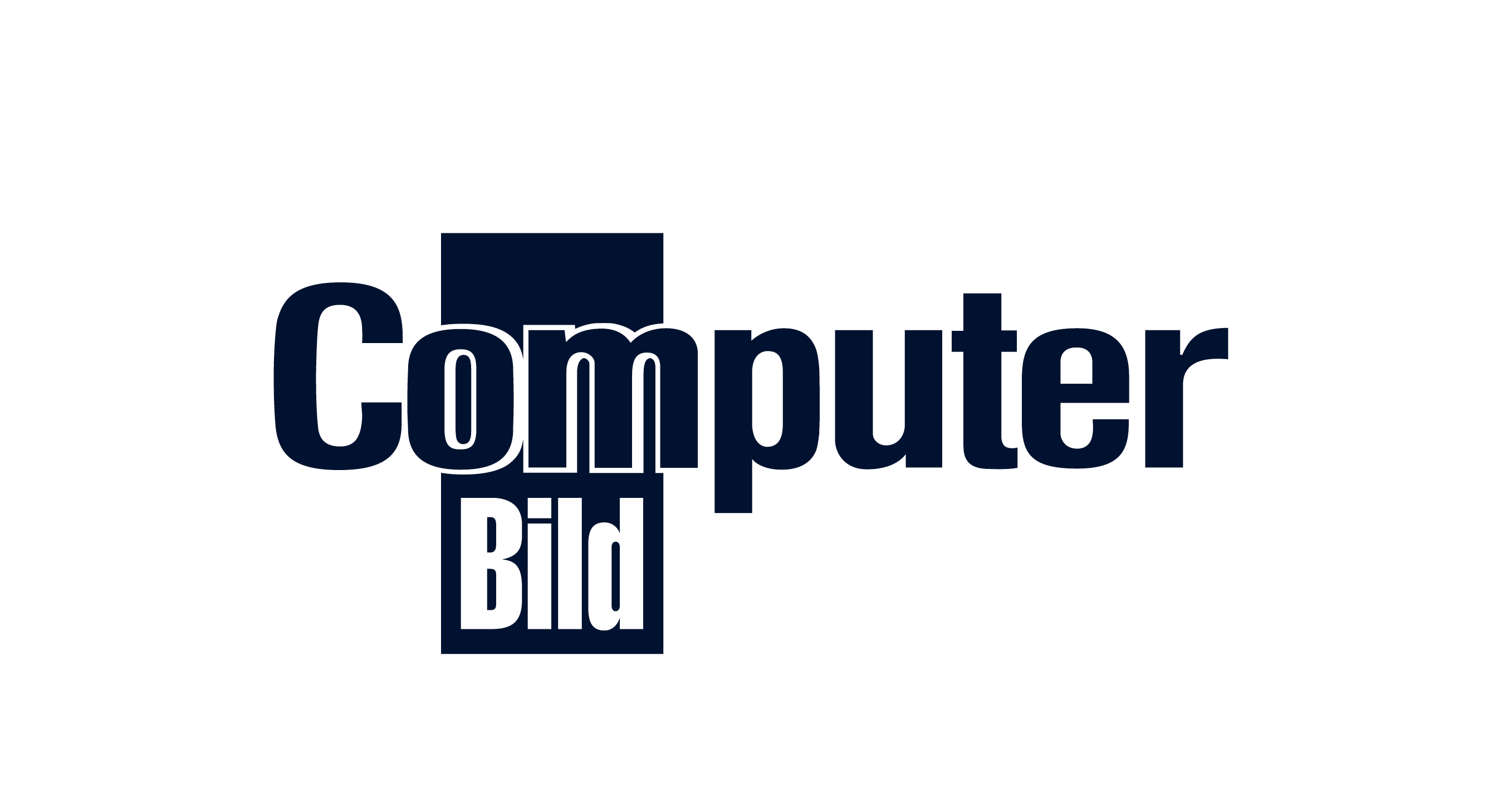 Computer Bild logo in conichi blue