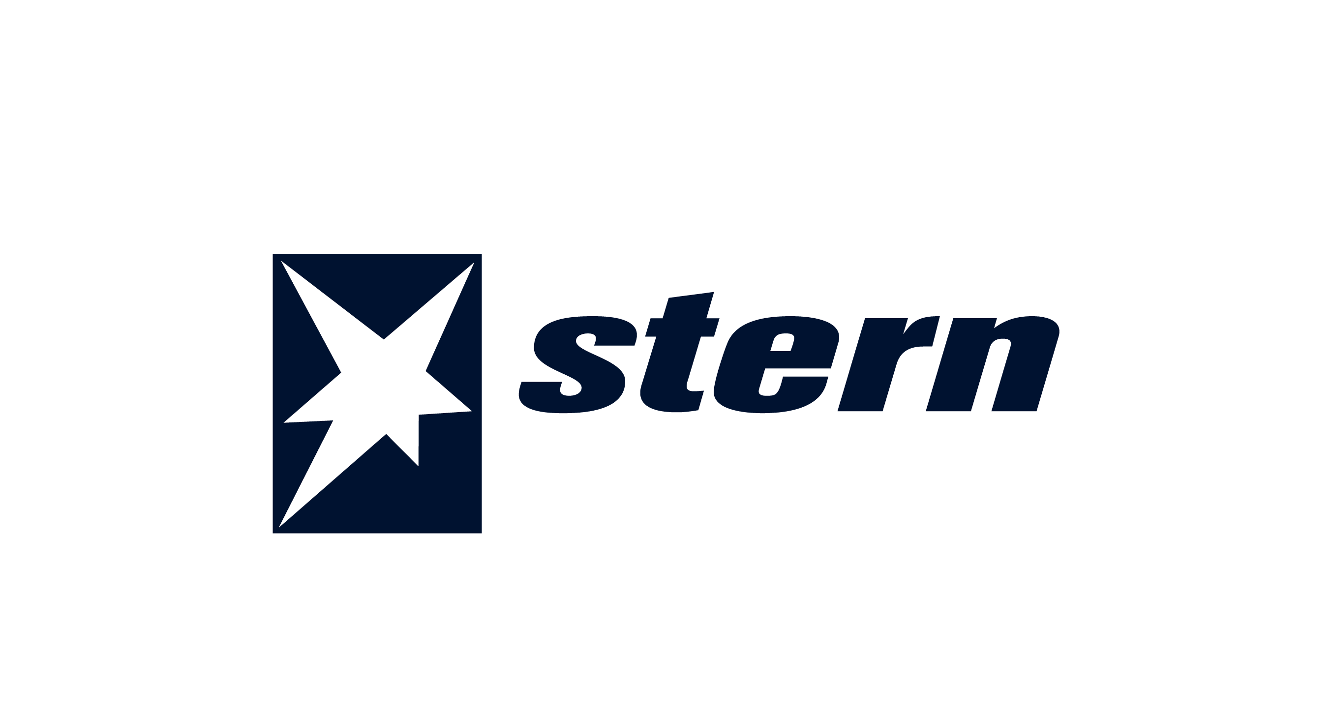 Stern logo in blue