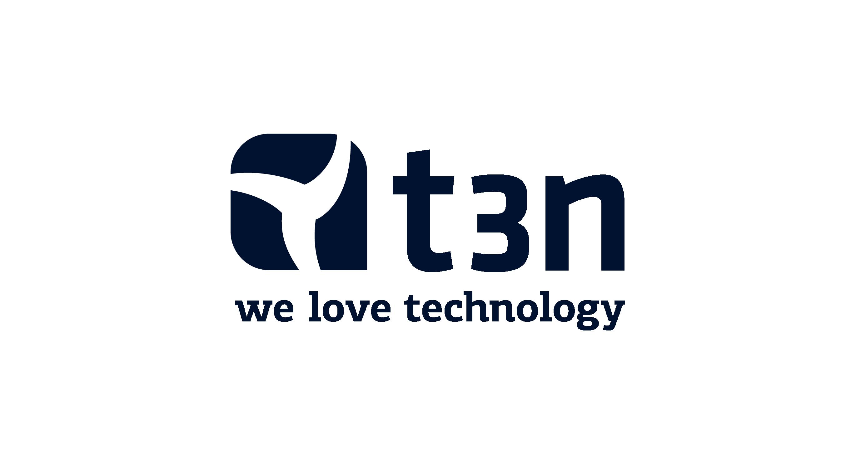 t3n logo blue